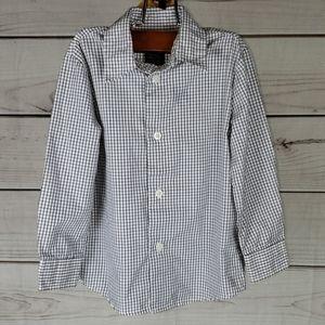 Nautica • 4t shirt long sleeve button up checkered